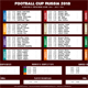 Football Cup Russia 2018 Schedule 2 - GraphicRiver Item for Sale