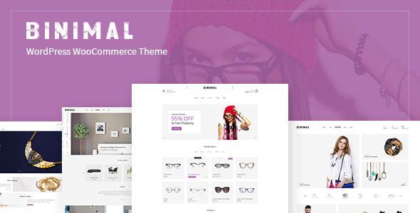 Image of Binimal - Minimalist Multipurpose WooCommerce Theme