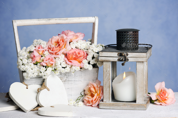 beautiful romantic composition - Stock Photo - Images