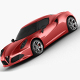 Alfa Romeo 4C  2014 - 3DOcean Item for Sale