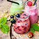 Healthy smoothies with fresh berry - PhotoDune Item for Sale