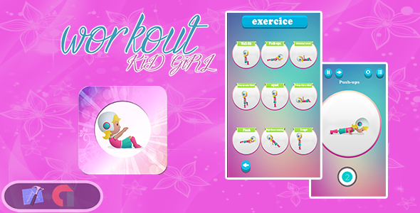 CodeCanyon Workout exercises for kids & Admob & IOS Xcode Project 21134755