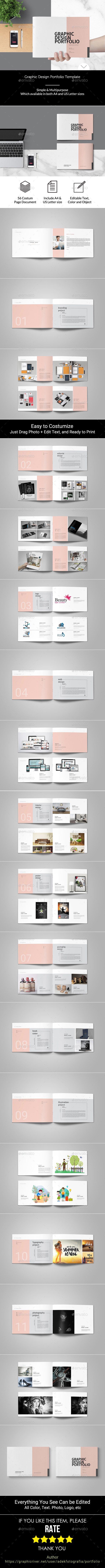 GraphicRiver Graphic Design Portfolio Template 21134760