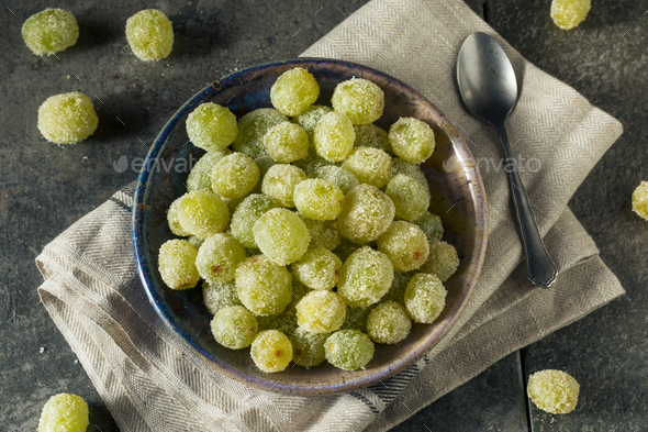 Boozy Sugared Prosecco Grapes - Stock Photo - Images