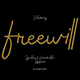 freewill handwritten