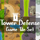 Tower Defense Tile Sets - GraphicRiver Item for Sale