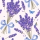 Lavender Flowers Seamless Pattern - GraphicRiver Item for Sale