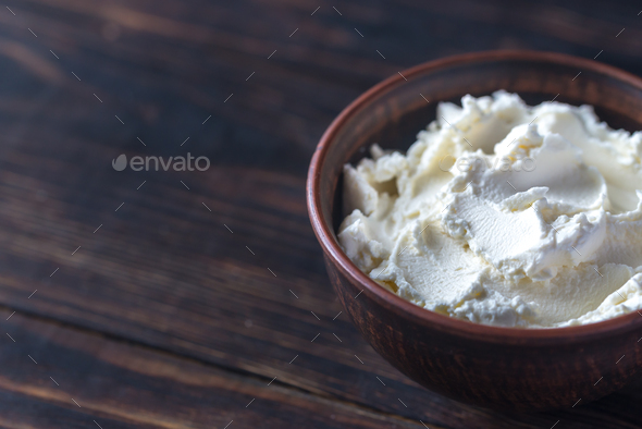 Mascarpone - Stock Photo - Images