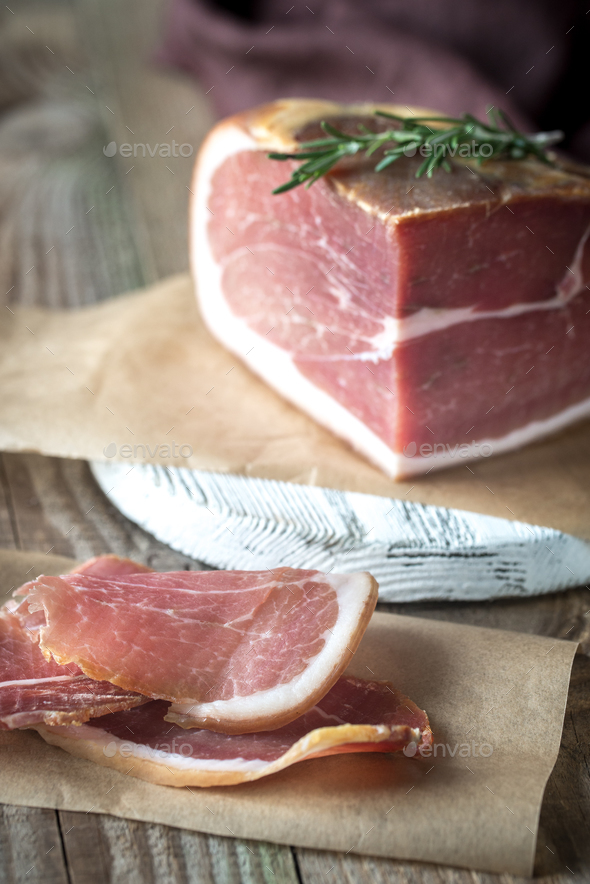 Prosciutto - Stock Photo - Images