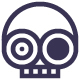 Crazy Skull Logo - GraphicRiver Item for Sale
