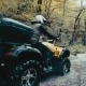 Man on the ATV Quad Bike on the Mountains Road - VideoHive Item for Sale