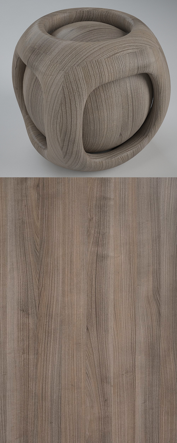 Real Plywood Vray Material Cherry Deluxe - 3DOcean Item for Sale