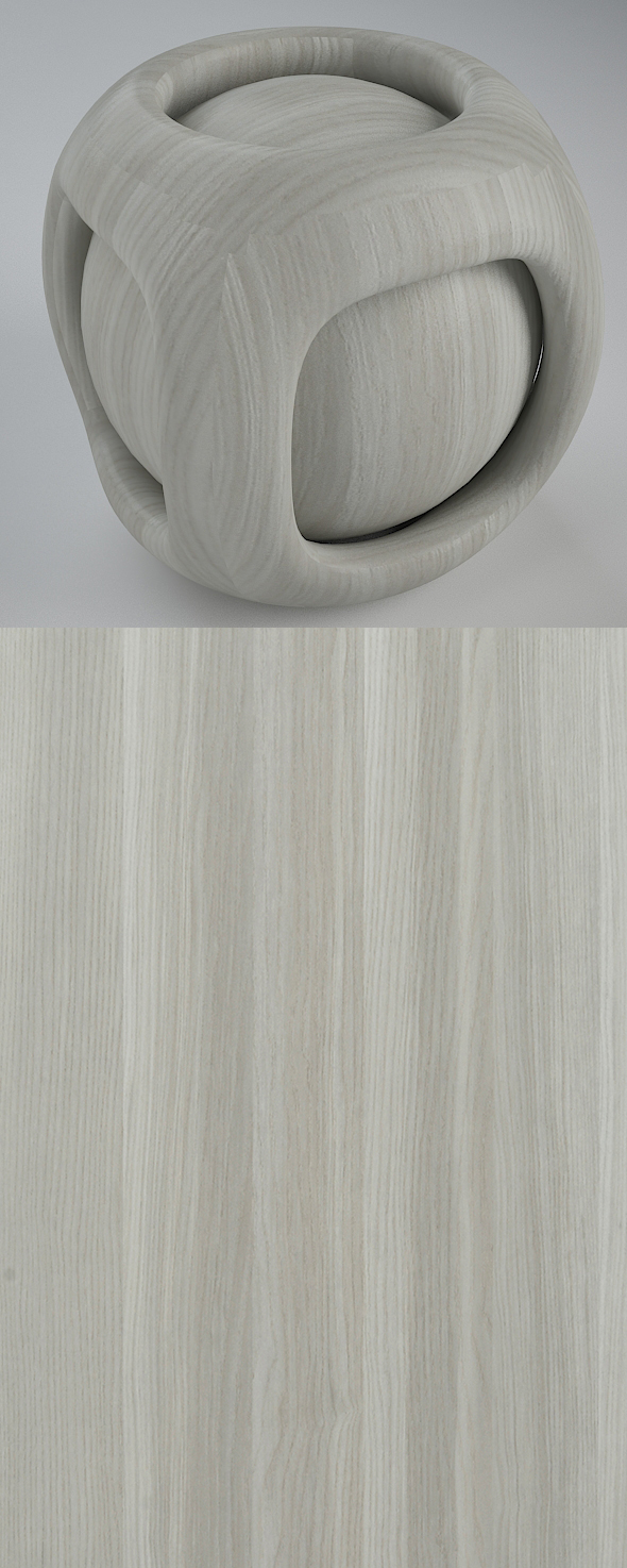 Real Plywood Vray Material Munich Ash - 3DOcean Item for Sale