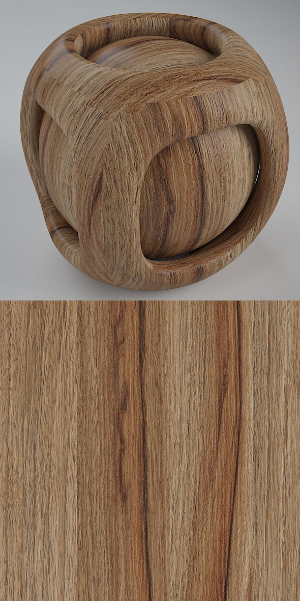 3DOcean Real Plywood Vray Material Preston Juglans 21135911