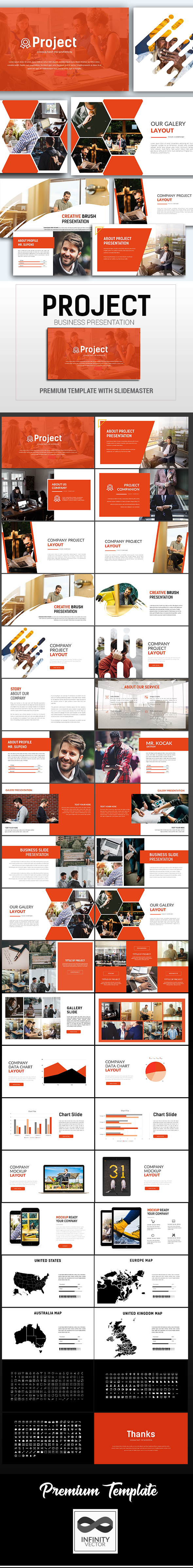 Project Consultant Presentation Keynote - Keynote Templates Presentation Templates