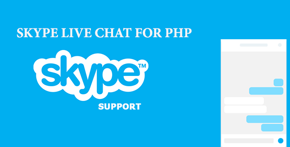 Skype Live Chat For PHP - CodeCanyon Item for Sale