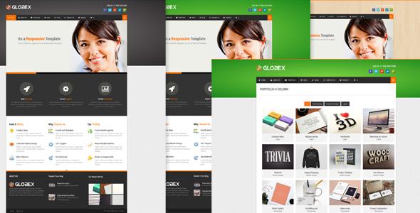 Globex - WordPress theme for Human Resource - Photography Creative