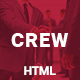 Crew — Business, Corporate Portfolio & Blog HTML Template - ThemeForest Item for Sale