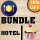 Restaurant & Hotel & Bakery Vintage Logo Bundle