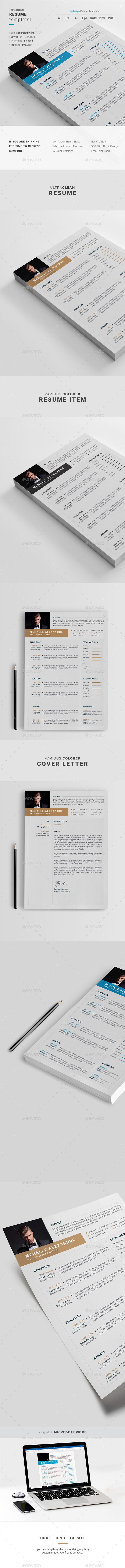 GraphicRiver Resume 21134367