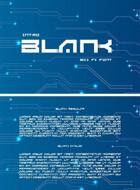 GraphicRiver Blank Fonnt 21081326