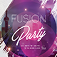 Fusion Party Flyer - GraphicRiver Item for Sale
