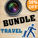 Travel & Photography Vintage Logo Bundle