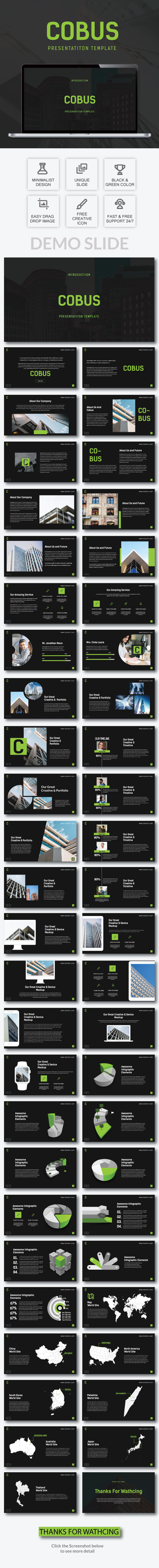 Cobus - Presentation Template - PowerPoint Templates Presentation Templates