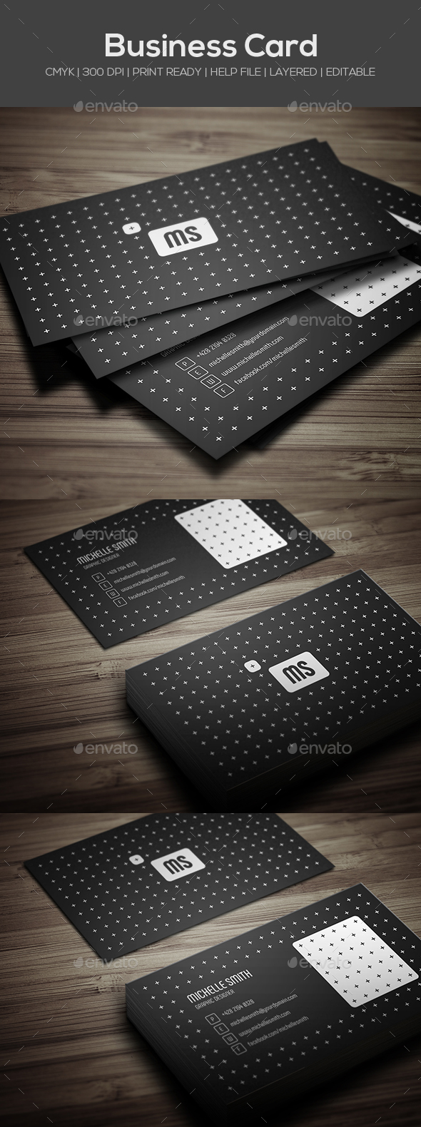 GraphicRiver Personal Business Card 21136446