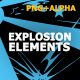 Hand Drawn Explosion Elements And Transitions - VideoHive Item for Sale