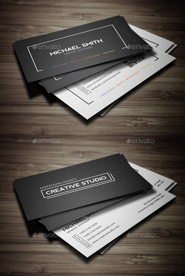 GraphicRiver Business Cards Bundle 21136635