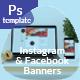 Instagram & Facebook Banners
