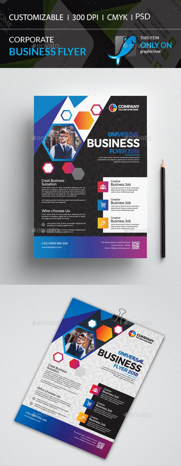GraphicRiver Corporate Flyer 21128286