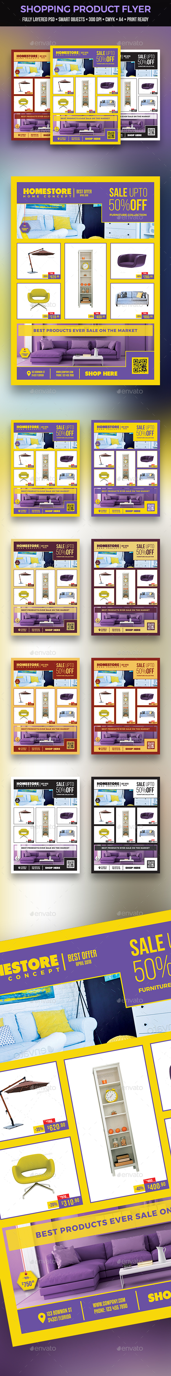 Shopping Product Flyer - Commerce Flyers