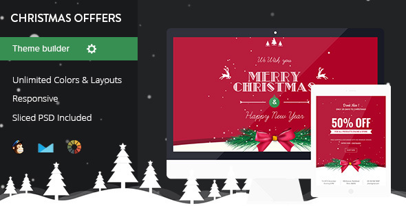 Image of Christmas Offers - Complete Set of Christmas Email Templates