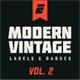 Modern Vintage Label and Badges Vol 2 - GraphicRiver Item for Sale