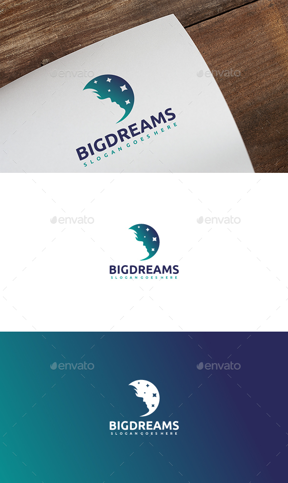 GraphicRiver Human Dreams Logo 21137070