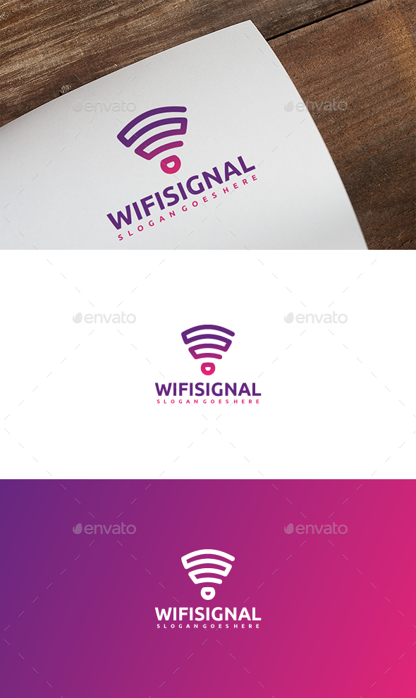 GraphicRiver Wireless Signal Logo 21137076