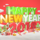 Happy New Year 2018 - GraphicRiver Item for Sale