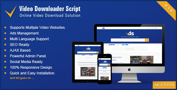 Download Source code              Video Downloader Script - All In One Video Downloader            nulled nulled version