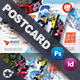 Winter Adventure Postcard Templates - GraphicRiver Item for Sale