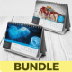 Desk Calendar 2018 Bundle - GraphicRiver Item for Sale