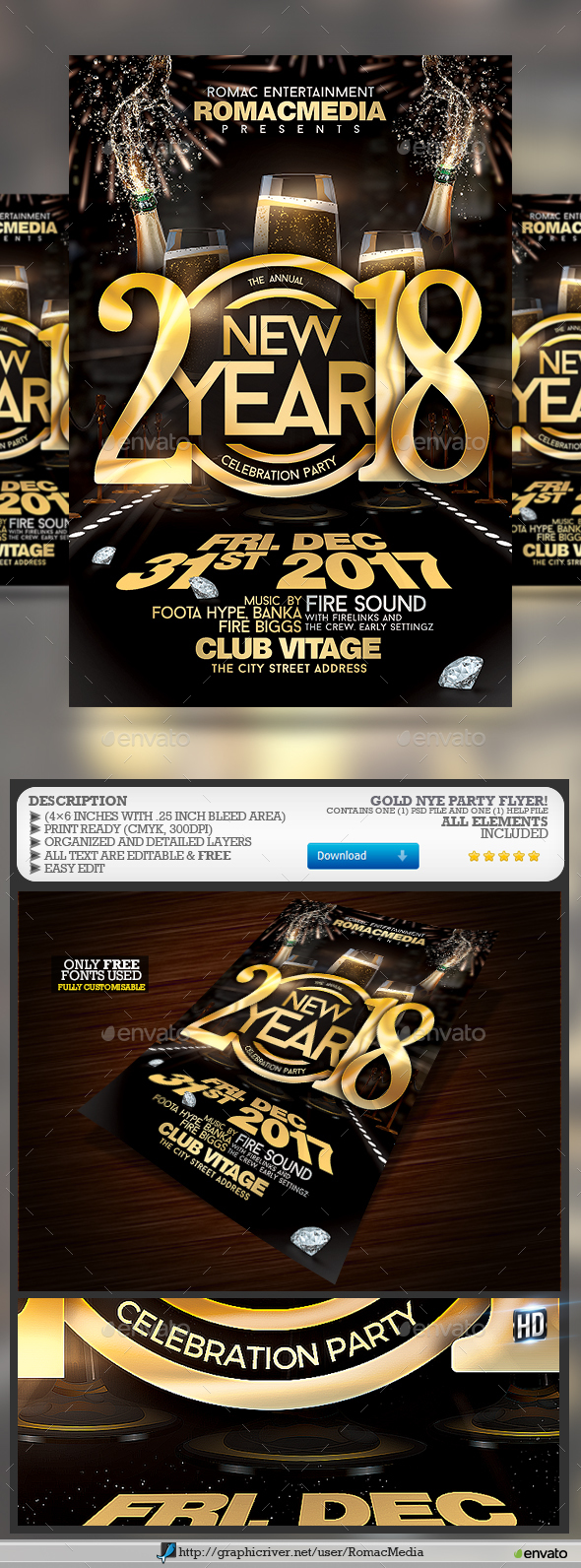 NYE Celebration Party - Clubs & Parties Events