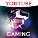 Gaming Channel Youtube Banner - GraphicRiver Item for Sale