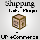 Shipping Details Plugin for WP eCommerce - CodeCanyon Item for Sale