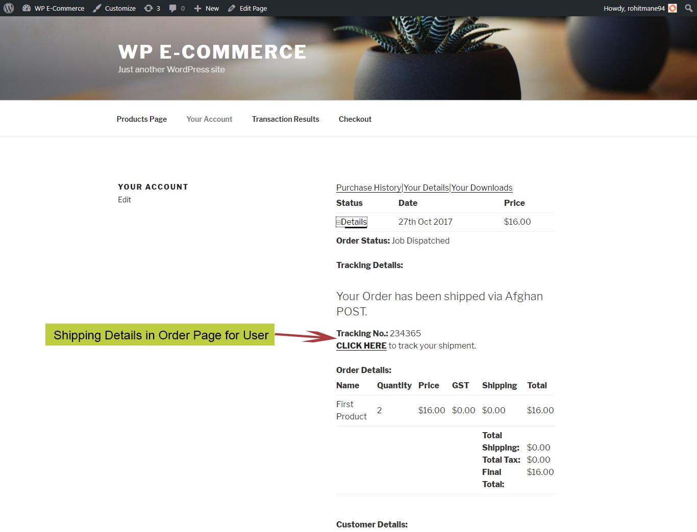 Dtdc Wordpress Plugin