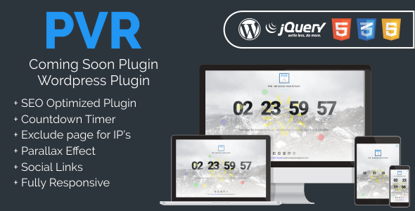 Download Source code              PVR - Coming Soon Plugin            nulled nulled version