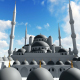 3D White Mosque - VideoHive Item for Sale