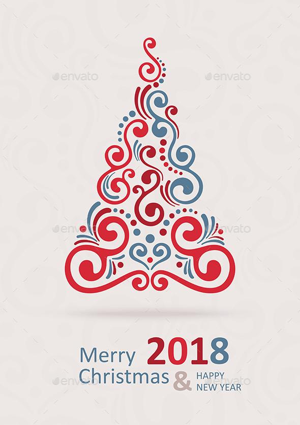 Merry Christmas Card 2018 - Christmas Seasons/Holidays