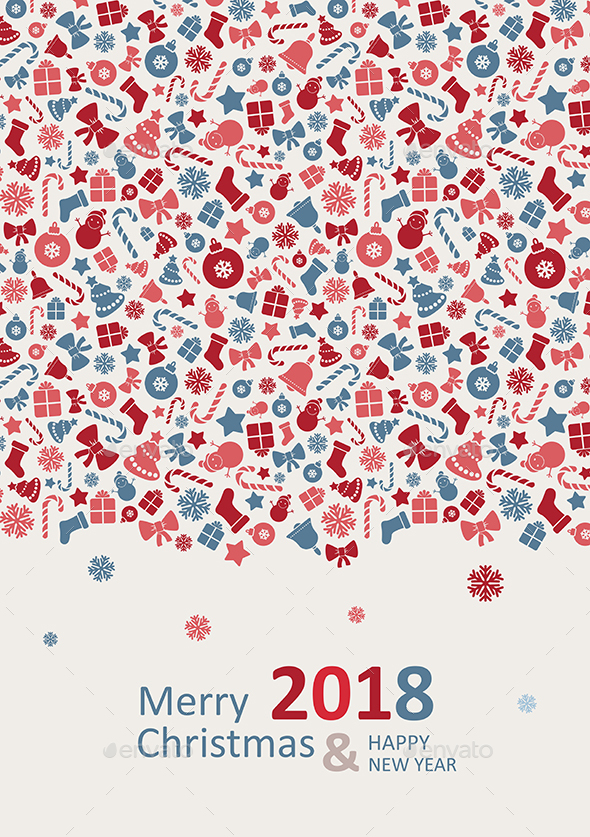 Merry Christmas Card 2018 - Christmas Seasons/Holidays